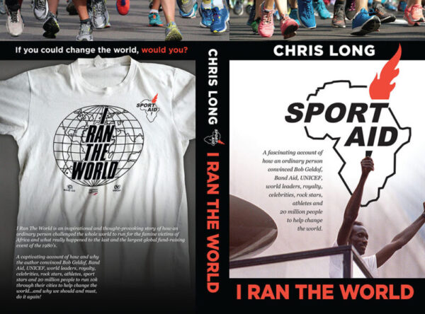 This is the cover of the book 'I Ran the World' by Chris Long