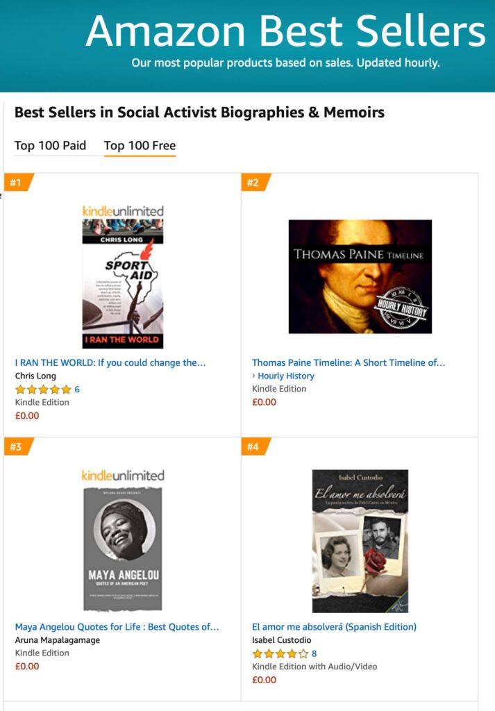 Amazon No.1 best title